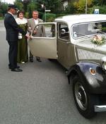 Brautpaar Petra und Karsten Greiner