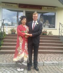 Familie Spilling zur Trauung in Moritzburg